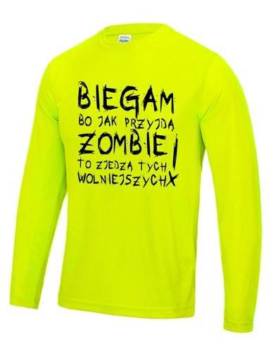 b9ae50b7d203e4 Męska koszulka do biegania - ZOMBIE | SKLEP \ MĘSKIE \ sportowe ...