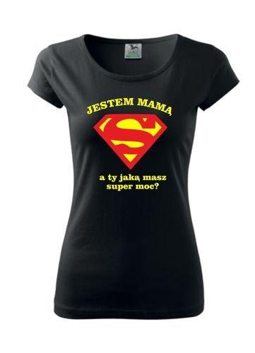 14141933a435f7 koszulka dla mamy - Super moc | SKLEP \ DAMSKIE \ dla mamy | Tytuł ...