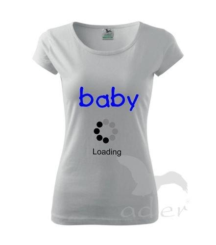 b9359d652b24cd koszulka dla przyszłej mamy - BABY LOADING   SKLEP \ DAMSKIE \ dla ...